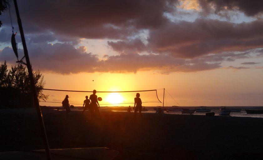 Les couchers de soleil de l'île Maurice