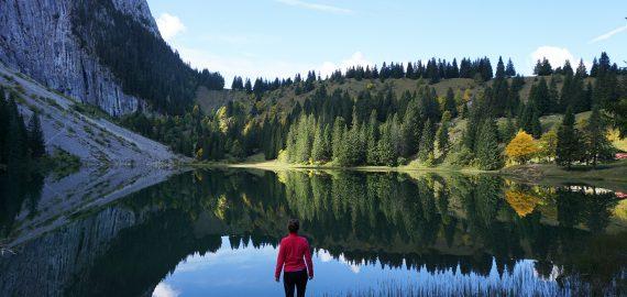 L'automne au bord du Lac Bénit (et à Chamonix)
